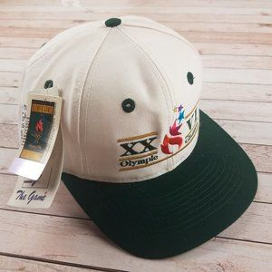 VTG 90s Atlanta Georgia Olympic Games Snapback Hat